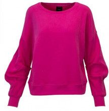 Only Felpa Only Fuxia - JUNE WRINKLE BLOUSE SWEATER - 15145765