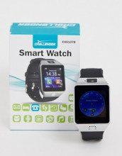 Smartwatch da uomo argento