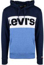 Levis Felpa con cappuccio Levi's Blu - COLORBLOCK HOODIE - 56613-0005