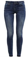 ONLCARRIE  - Jeans Skinny Fit - dark blue denim
