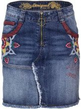 Desigual Gonna Desigual Denim - FAL ZITA - 18WWFD02