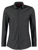 ETELLO SLIM FIT - Camicia elegante - black
