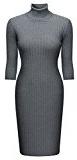 Miusol® -  Vestito  - fasciante - Maniche lunghe  - Donna