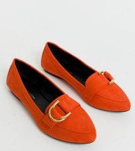 Mocassini arancioni