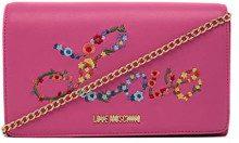 Love Moschino Nappa Pu, Borsa a tracolla Donna, Rosa (Fuxia) 6x12x22 cm (W x H x L)