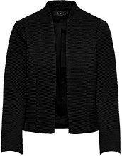 Only Onllink Ricks L/s Blazer CC TLR, Donna, Nero (Black Detail: Solid), 40 (Taglia Produttore: 34)