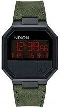 Nixon Orologio Unisex Digitale al Quarzo con Cinturino in Pelle – A944032