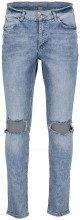 Cheap Monday Jeans skinny vita media rotture sulle ginicchia