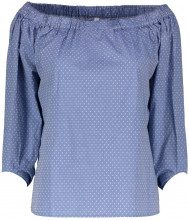 Sun68 Blusa camicia a pois donna