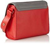 Piquadro BD3381WO8/R Omega Borsa Donna Sottobraccio, Rosso, 22 cm