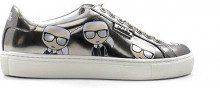 Lagerfeld Sneakers Trendy donna argento