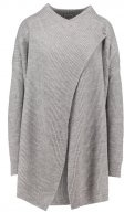 NMSHAKE - Cardigan - medium grey melange