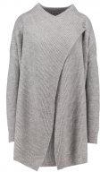 Noisy May NMSHAKE Cardigan medium grey melange