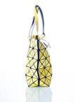CUBIC STYLE geometrica borsa/ borsa per la spesa per la donna con cerniera lampo (44 cm x 28 cm x 11 cm)