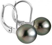 Pearls & Colors - Orecchini, Oro bianco
