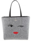 HALLIE - Shopping bag - grey