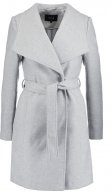 VIDIRECTOR - Cappotto corto - light grey melange