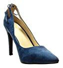 Angkorly - Scarpe Moda scarpe decollete stiletto sexy donna pon pon frange Tacco Stiletto alto 10 CM