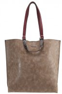 AMBER  - Shopping bag - taupe
