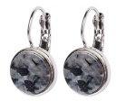 CORKIN  - Orecchini - shiny silver-coloured