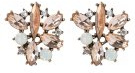 SYRACUSAE - Orecchini - rose gold-coloured/clear
