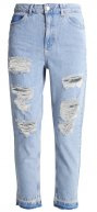 Topshop SRIP Jeans baggy bleach