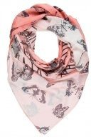 VALENTINE BUTTERFLIES - Foulard - orange