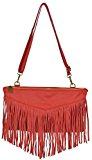 Bags4Less Clutch / Borsa a tracolla Con frange