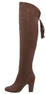 Stivali sopra il ginocchio - dark brown