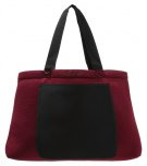LENNY - Shopping bag - red