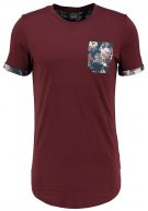 JORAUTUMN SLIM FIT - T-shirt con stampa - port royale