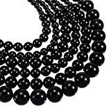 Fashion, colore: bianco, blu, rosso e perle con catena grossa strati Timando-Collana, come regalo di Natale