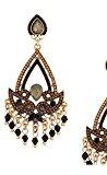 Orecchini con perle e filigrana