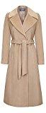 Anastasia - Cammello Cappotto con cintura Wrap