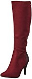 RAXMAX, Ballerine donna, rosso (bordeaux), 36