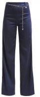 CLEA PALAZZO - Jeans a zampa - blue