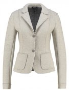 Blazer - light grey melange