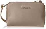 Trussardi Jeans Montblanc Borsa a Mano, 25 cm, Taupe