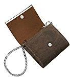 Corkor borsa / pochette a tracolla donna - catena staccabile - sughero