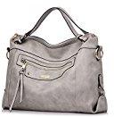 Realer Grande capienza borse donna in pelle borse a tracolla per viaggio dell'ufficio campeggio