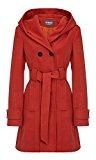 Anastasia - Cappotto con cappuccio con cintura
