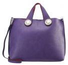 Shopping bag - purple red
