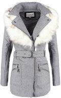 TATUM  - Cappotto corto - grey