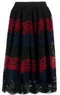 Gonna a campana - rio red/navy/black