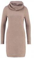Vestito di maglia - taupe