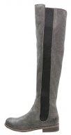 BERTHA - Stivali sopra il ginocchio - asfalto