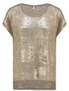 ONLPLEARL - T-shirt con stampa - gold colour
