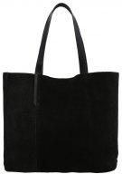 Shopping bag - black lizard