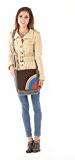 Sunsa Messengertasche, Borsa a tracolla donna Größe ca. (BxHxT): 25x30x7 cm