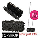 Topshop Gem & Stud Box Bag